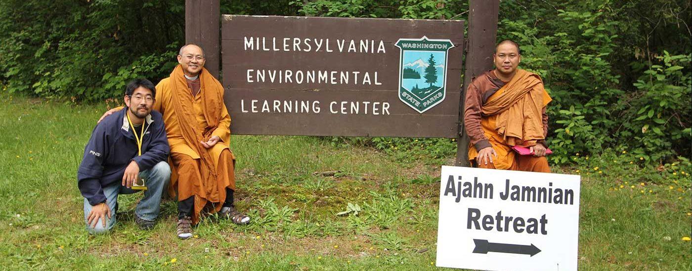 Ajahn Jamnian's past retreat photos