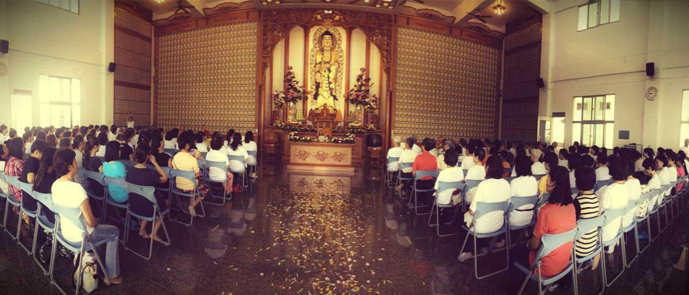 At Jhang Hua temple, Taiwan