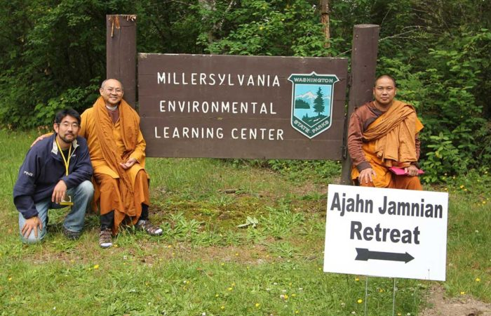 Ajahn Jamnian's past retreat photos