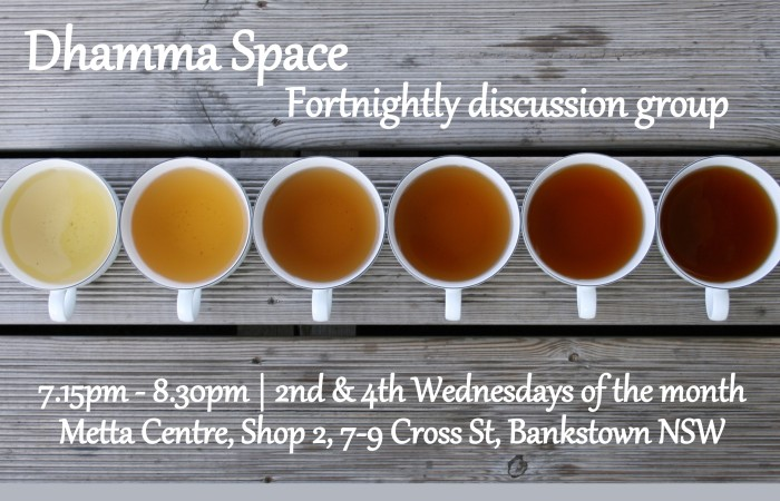 DhammaSpace: fortnightly Buddhist discussion group
